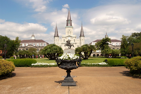Jackson Square, New Orleans, LA : Travel USA : Michael Ventura Photography, Washington DC, Portraits, Stock, Caribbean, Headshots, head, shots , Photographer, Photography