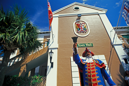 The Town Cryer of St. Georges, Bermuda : Travel Caribbean : Michael Ventura Photography, Washington DC, Portraits, Stock, Caribbean, Headshots, head, shots , Photographer, Photography