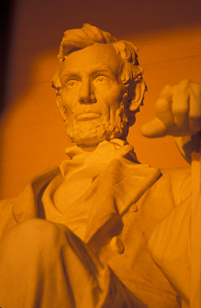 Sunrise lights up Abe Lincoln at the memorial in Washington, DC : Travel USA : Michael Ventura Photography, Washington DC, Portraits, Stock, Caribbean, Headshots, head, shots , Photographer, Photography
